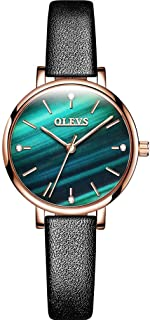OLEVS Women's Watches Fashion Starry Sky Quartz Watch Leather Belt Strap Watch L6894