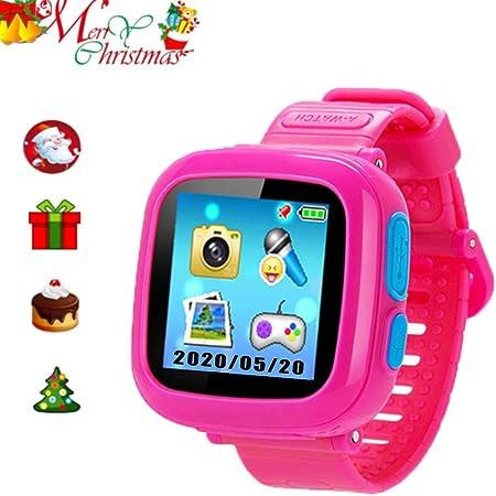 スマートウォッチ キッズ 腕時計 多機能 プレイウォッチ腕時計 おもちゃ タッチスクリー 誕生日/卒業祝い/クリスマスのプレセント 日本語設定