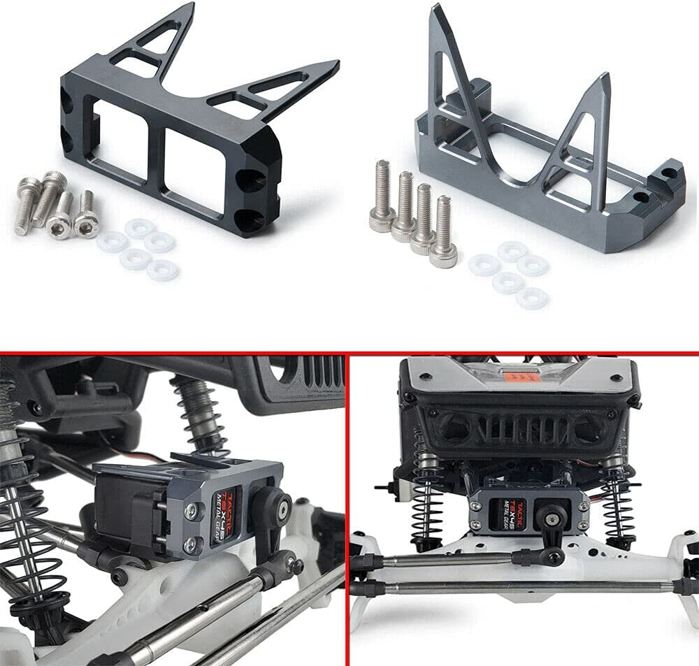 Above Axle Servo Mount Protection Cover RC Tucson Mall Max 90% OFF Axial 10 Wraith 1 for