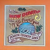 NEW RIDERS OF THE PURPLE SAGE Marin Country Line MCA 2307 LB LP Vinyl VG+ Insert