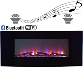 Best wall mount fireplace with bluetooth speakers Reviews