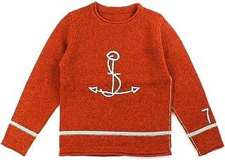 (カイセイドウ) 快晴堂シェットランドウール大錨刺繍クルーネックセーターニットプルオーバー83K-33G・125