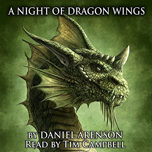 A Night of Dragon Wings audiobook cover art