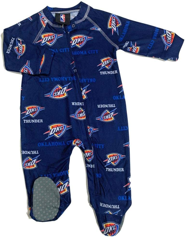 Outerstuff Infant Price reduction Toddler Oklahoma City Zip Ranking TOP19 Coverall Up Thunder