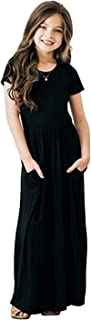 toddler black maxi dress