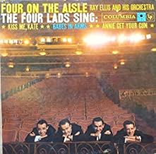 Four on the Aisle: The Four Lads w/ Ray Ellis Orchestra