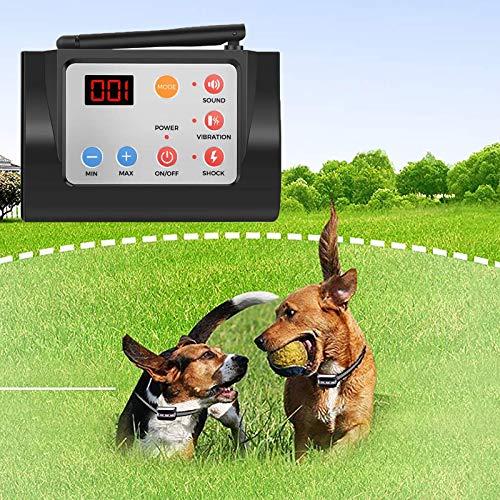 NXL Valla En El Suelo Recargable para Perros Y Gatos Vibración/Descarga Eléctrica/Pitido...