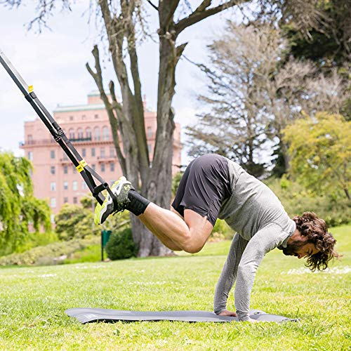 TRX-Training-GO-Suspension-Trainer-Kit-Lightest-Leanest-Suspension-Trainer-Ever-Perfect-for-Travel-and-Working-Out-Indoors-Outdoors-Black