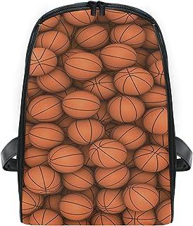 FANTAZIO - Mochila de baloncesto con cremallera, para niños