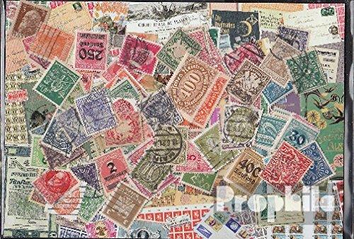 Prophila Collection Deutsches Reich 100 Verschiedene Marken aus den Jahren 1872 bis 1932 mit Nebengebieten (Briefmarken für Sammler)