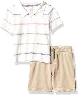 Splendid baby-boys RNS1355 Baby and Toddler T-Shirt Set