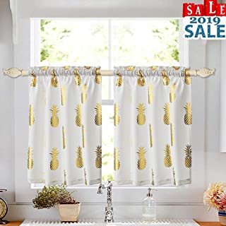 Best gold pineapple curtains Reviews