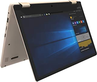I-Life Zed Note Prime Slim Light Weight Convertible 11.6 inches LCD Notebook Intel APL3350 2.4 GHz, 2 GB RAM, 0 GB eMMC, Windows 10 Home - Gold