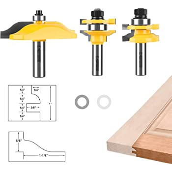 MINI RAISED PANEL ROUTER BIT SET