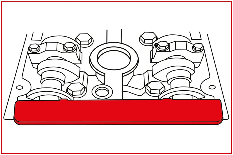 KS Tools 400.3050 Alfa Romeo   Fiat   GM   Opel - Motoreinstell-Werkzeug-Satz, 7-tlg. B00QU7ZBO2  Hervorragende Eigenschaften