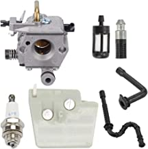 Hayskill MS260 Carburetor with Air Filter Tune Up Kit for Stihl 024 026 MS240 MS260 PRO Walbro WT-403A WT-403B Chainsaw Carb Replace 1121 120 0610
