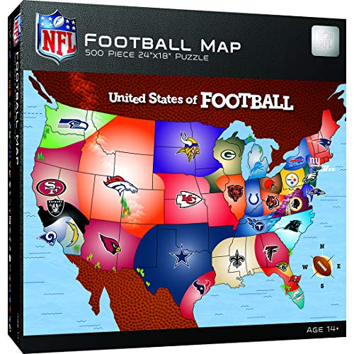 MasterPieces NFL USA Map...