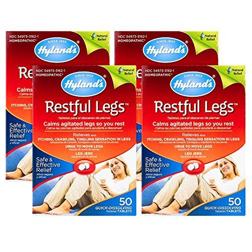 Hyland's Restful Legs Tablets 50 ea (Pack Of 4)