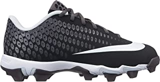 Nike Kids' Lunar Vapor Ultrafly 2 Keystone Baseball Cleats (1, Black/Grey)