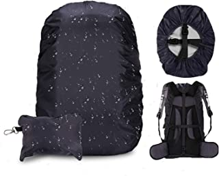 ActionEliters Waterproof Backpack Rain Cover,Upgraded Anti-Slip Cross Buckle Strap & Water Resistant Rainproof Backpack Cover for Camping,Hiking,Climbing,Cycling and Other Outdoor Activities