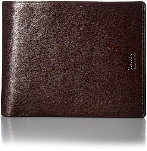 [タケオキクチ] 財布 中ベラ付 アルド 177624 チョコ