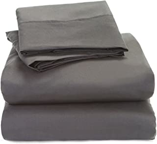 Cotton Sheets - 4-Piece Sheet Set for Olympic Queen Size 66