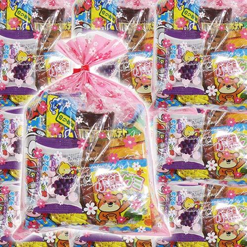 花柄袋 お菓子袋詰め 20袋セットC 詰め合わせ 駄菓子 おかしのマーチ
