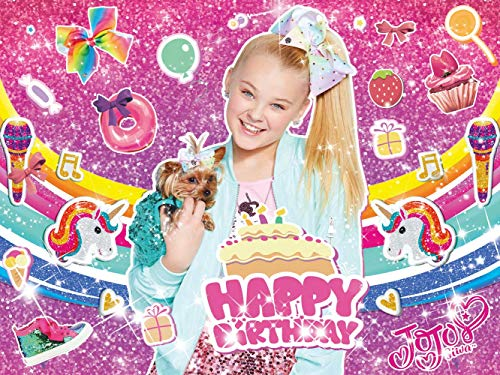 JoJo Siwa Happy Birthday Backdrop