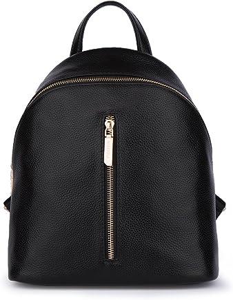 1edca724ed Women Genuine Leather School Backpack Purse Shoulder Travel Bags By FIGESTIN