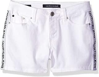 Calvin Klein Big Girls' Denim Short