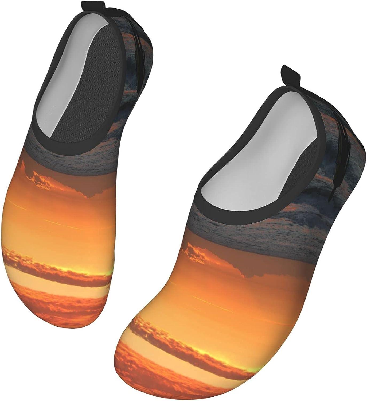 VEIMER Surfer Water Water Shoes for Women Men Outdoor Beach Swimming Aqua Socks Barefoot Quick-Dry Slip-on Surfing Yoga Shoes