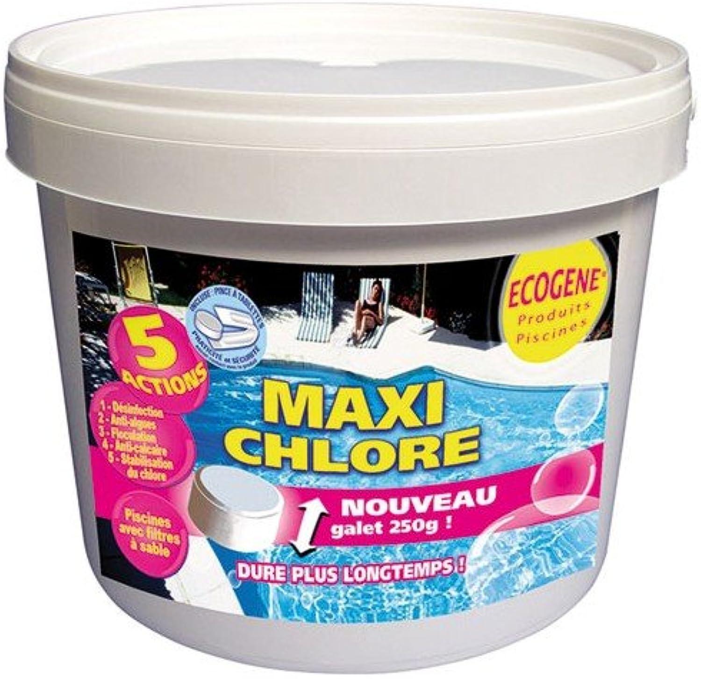 diseñador en linea Maxi cloro cloro cloro tabletas 5en 1250G 5kg ECOGENE  ahorra hasta un 80%
