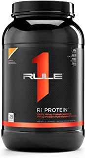 Sponsored Ad - R1 Protein Whey Isolate/Hydrolysate, Rule 1 Proteins (38 Servings, Orange Dreamsicle)