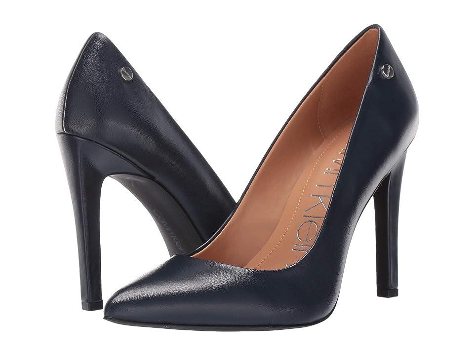 Calvin Klein Brady (Navy Leather) Women