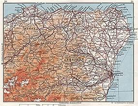 GRAMPIAN. Abderdeenshire Banff Moray Elgin. Vintage map plan. Scotland - 1967 - old map - antique map - vintage map - Scotland maps