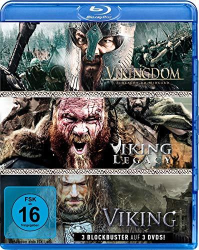 Wikinger-Box: Viking, Vikingdom & Viking Legacy (3 Blu-rays)