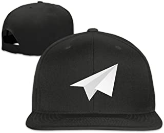 Plain Plane Made of Paper Hip Hop Baseball Caps for Men and Women