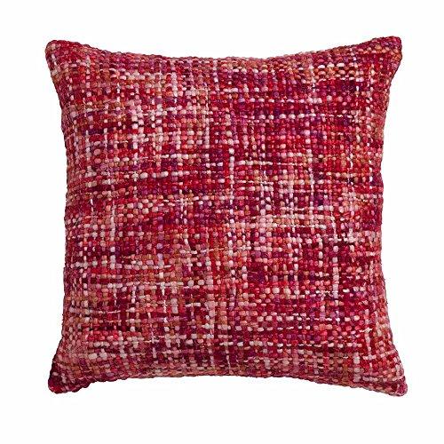 Madison Suus, Coussin et Couverture Rouge 50 x 50 cm