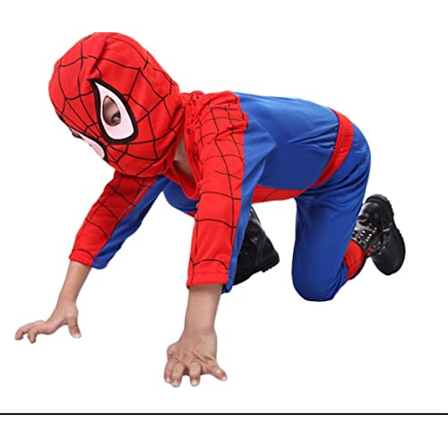 206c9da5 SoSuperHero Kids Amazing Spiderman Spandex Zentai Suite Halloween Costume