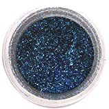 Royal Blue Craft Glitter Dust | Shiny Blue Glitter | Decoration Dust for Cake Accessories, DIY Crafting | Glitter Dust for Decoration | Brillantina | Sunflower Sugar Art