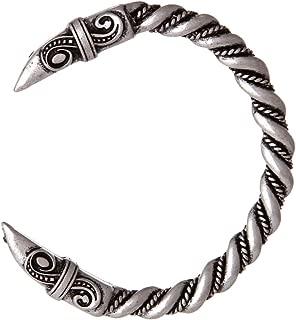 Vikings Raven Bracelet Bangle Cuff Nordic Twisted Wire Raven Wristband Jewelry
