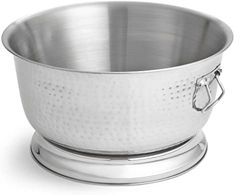 Artisan Stainless Steel Hand Hammered Insulated Beverage Tub 17 Qt Amazon Ca Home Kitchen