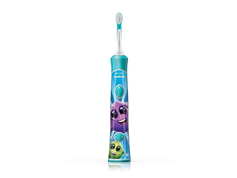 薄める役立つ希少性フィリップス ソニッケアー キッズ こども用電動歯ブラシ アプリ連動 HX6326/03