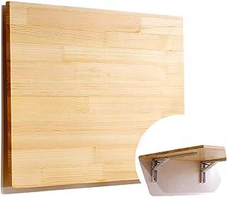 GHJA Table Murale Tables de Salle à Manger en Bois Pliantes, établi de Cuisine/buanderie/Table d'ordinateur Portable, Tabl...
