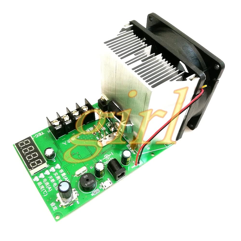 Battery Capacity Tester, Electronic Load Cell Capacity Tester can Connect to Computer TEC-12P. - (Color: add 12v Power Supply)