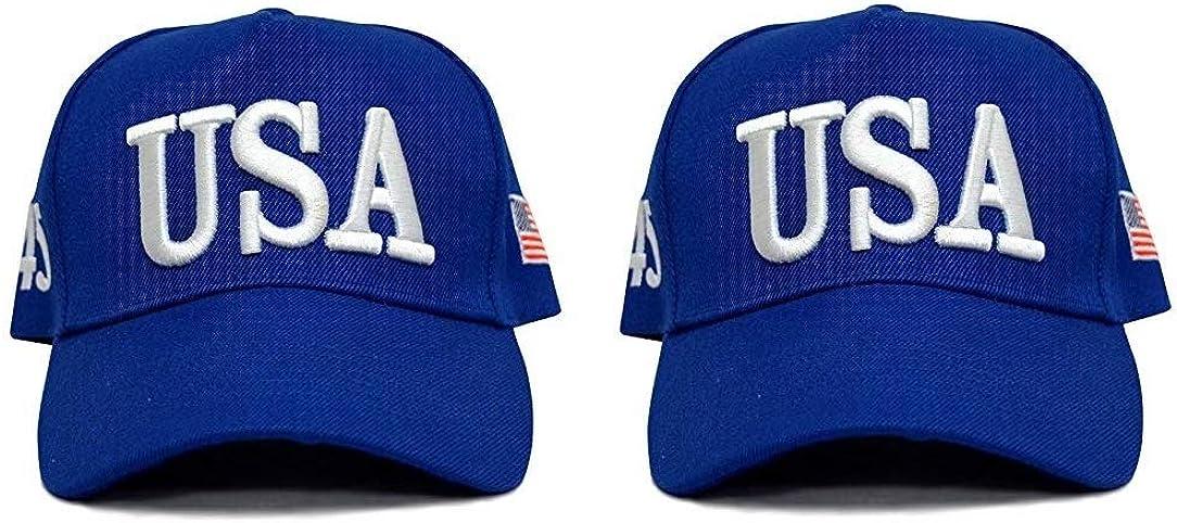 Make America Great Again Hat [2 Pack], Donald Trump USA MAGA Cap Adjustable Baseball Hat