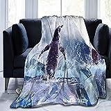 Searster$ Fleece Blanket Flanell Fleecedecke Throw Nature Spiral Vine Ultraweiche Plüschdecke aus Samt,50 x 40 Zoll