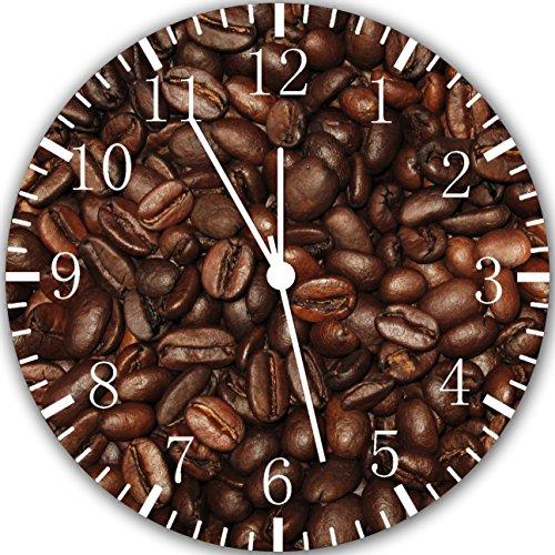 Kaffee Bohnen Wanduhr 25,4cm Will Be Nice Gift und Raum Wand Decor Y55