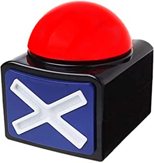 RIBOSY Game Answer Buzzer - Game Buzzer with Lights and Sound Trivia Quiz Got Talent Buzzer - Buzzer Buttons for Game Show