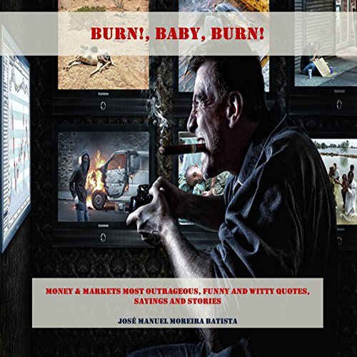 Burn, Baby, Burn! audiobook cover art